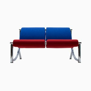 2-Tone Bench from Klöber, Germany, 1980s
