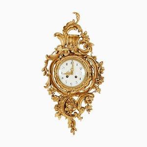 Rococo Wall Clock, 1900s