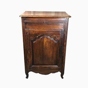Louis XV Style Carved Oak Jam Cupboard, 19th Century