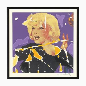 Mimmo Rotella: Marilyn, the Faces, Silkscreen and Collage
