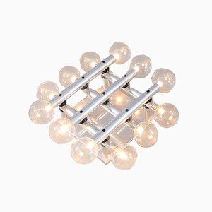 Schweizer Vintage Atomic Tischlampe von Trix & Robert Haussmann für Swiss International Lamps, 1970er
