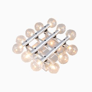 Vintage Swiss Atomic Table Lamp by Trix & Robert Haussmann for Swiss International Lamps, 1970s