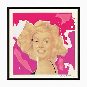 Mimmo Rotella: Marilyn, the Faces, Siebdruck und Collage