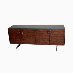 Mid-Century Leather Wrapped Sideboard from Gorden Russell