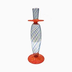 Murano Glass Candleholder, Italy, 1980s