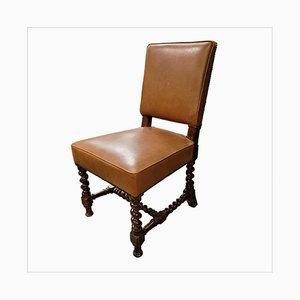 Antike Eichenholz Stühle, 10er Set