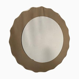 Wall Mirror from Cristal Art, Italy, 1970s