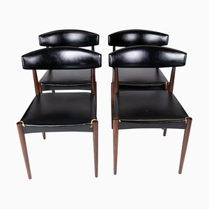 Danish Rosewood Dining Chairs, 1965, Set of 4