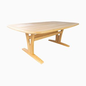 Danish Coffee Table in Beech from Skovby Furniture Factory