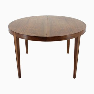 Extendable Rosewood Dining Table by Severin Hansen for Haslev Møbelsnedkeri, 1940s