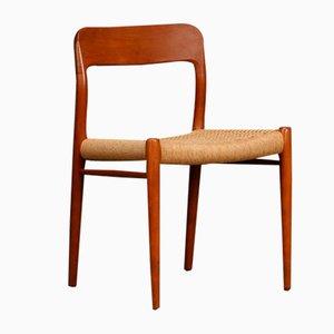 Model No. 75 Teak Chair by Niels O. Møller