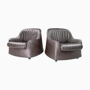 Ciprea Lounge Chairs by Tobia and Afra Scarpa for Cassina, 1970s, Italy, Set of 2