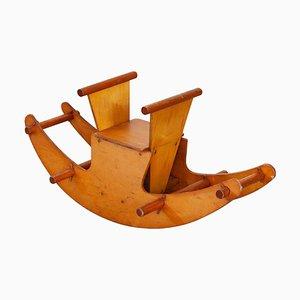 Children's Wooden Rocking Horse