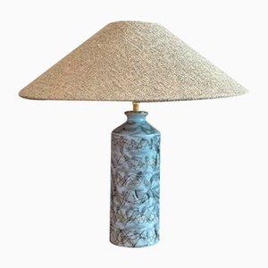 Große Keramik Tischlampe von Upsala-Ekeby, 1950er