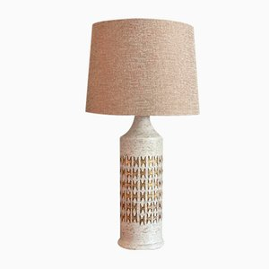 Large Stoneware Table Lamp by Bitossi for Bergboms