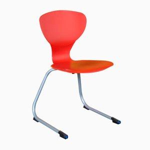Chaise IKS Rouge par Giovanni Baccolini pour Ilpo Design