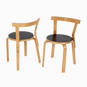 Stühle von Alvar Aalto für Artek, 6er Set