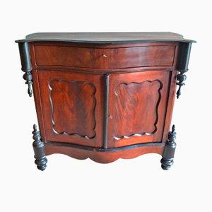 Antique William III Mahogany Maid's Cabinet