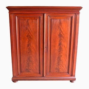 Antique Mahogany Maid's Cabinet