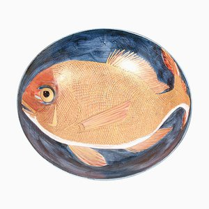 Japanese Hand-Painted Ceramic Bowl