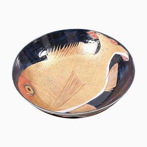 Handbemalte Keramik Schale, Japan, 2016