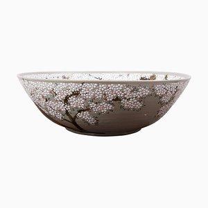 Hand-Painted Japanese Ceramic Bowl