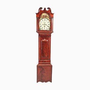 Antique Mahogany Eight Day Longcase Clock