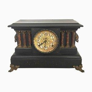 Antique Victorian Eight Day Mantel Clock, 1860s