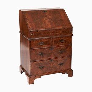 Antique Queen Anne Revival Burr Walnut Bureau
