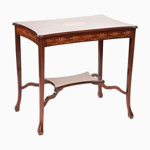 Antique Edwardian Inlaid Mahogany Centre Table