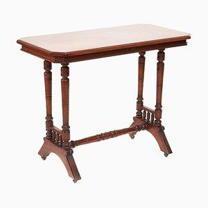 Antique Walnut Centre Table, 19th Century