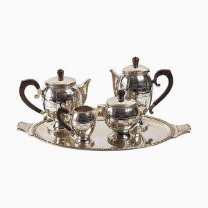 Tee- und Kaffeeservice, 1925, 5er Set