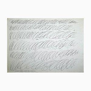 Póster de la exposición Cy Twombly vintage, Galleria La Tartaruga, 1968