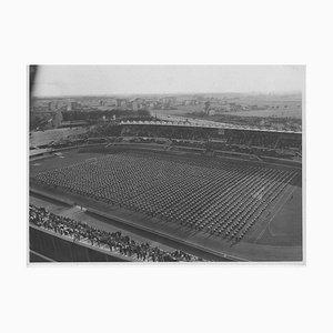 Sport während der faschistischen Periode in Italien, Vintage Schwarz-Weiß-Fotografie, 1934