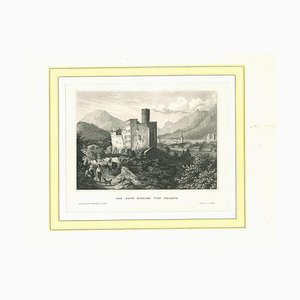 Trient, Original Lithograph on Paper, 19th Century