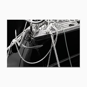 Michael Banks, Boat 2, Signed Limited Edition Pigment Print, Black and White Photography, 2019