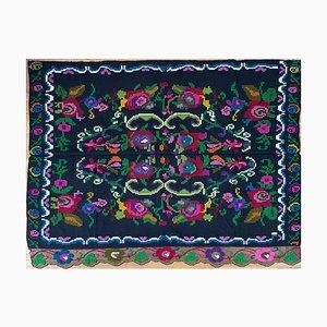Handgemachtes florales Vintage Sofa oder Tagesbett, Rumänien