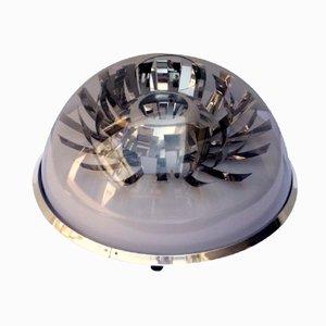 Lampe de Bureau en Methacrylate et en Acier