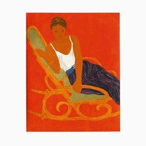 Chaise Rocking par Pierre Boncompain