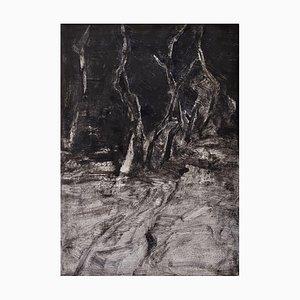 Vernichtungsliebe, Öl auf Papier, 2016