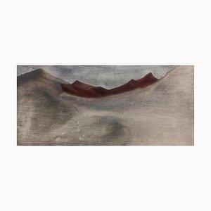 Blutopfer, Aquarell auf Papier, 2021