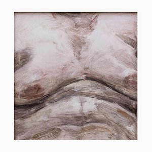 Fracture Surface No.2, Oil on Paper, 2015