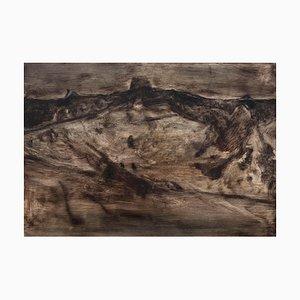 Outward, Oil on Paper, 2016
