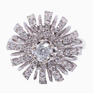 Ring aus 18 Karat Gold mit Diamanten