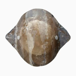 Murano Rauchglas Wandlampe von Kalmar