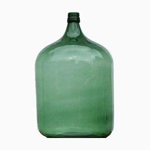 Green Demijohn in Forest Glass