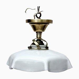 Kleine antike Deckenlampe