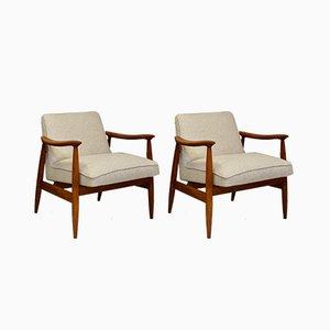 Lounge Chairs by Juliusz Kedziorek for Gościcińskie Furniture Factory, 1960s, Set of 2