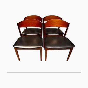 Scandinavian Chairs from Jysk Mobelfabrik, 1960s, Set of 4