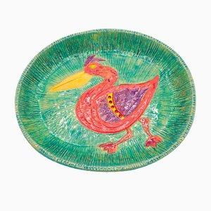 Flat Pelican Plate by Carolina Pholien, 2020